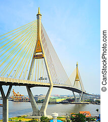 Industrial Ring Road Bridge - The Bhumibol Bridge also known...