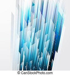 abstract background with straight blue lines