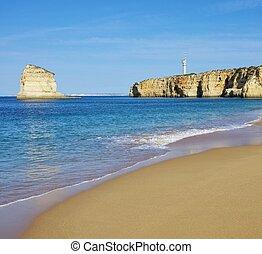 Algarve Strand Caneiros - Algarve beach Caneiros 01