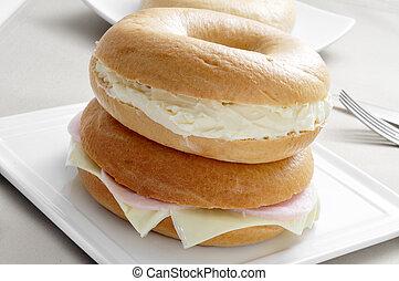 stuffed bagels