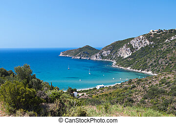 Corfu island in Greece - Saint George coast at Corfu island...