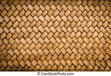 old bamboo craft texture