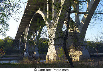 Mendota Bridge Over Minnesota River - Mendota Bridge or...