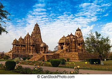 Kandariya Mahadeva Temple, Khajuraho, India, UNESCO heritage...