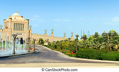 Emirates Palace in Abu Dhabi - DUBAI - NOVEMBER 5: Emirates...