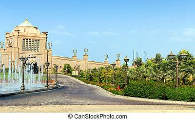 Emirates Palace in Abu Dhabi - DUBAI - NOVEMBER 5: Emirates...
