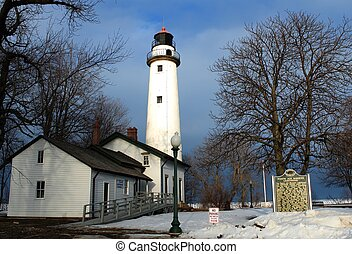 Great Lakes Beauty - Gorgeous Point Aux Barques Lighthouse...