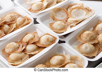 Thai coconut pudding - Coconut Rice Cake,Thai coconut...