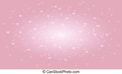 Abstract background to the Valentine's day. Vector