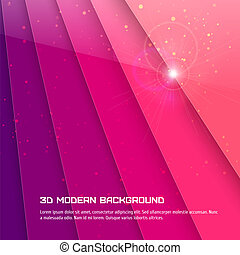 Abstract 3D background