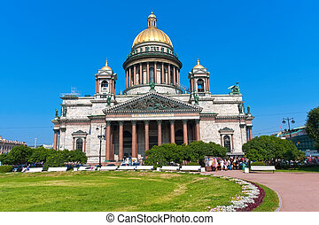 Saint Isaac Cathedral - St Isaac Cathedral in Saint...