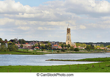 Rhine river - The Lower Rhine at Rhenen, The Netherlands