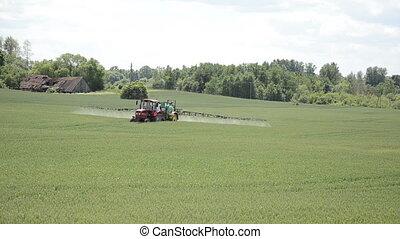 fertilize field house