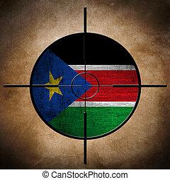 Sudan flag target