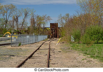 Rail road trestle - Rail road bridge