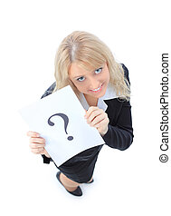 Unidentifiable business woman - Unidentifiable business...