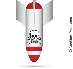 Bomb with a chemical weapon