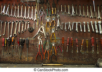 Mechanical workshop tools