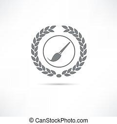 artistic brush icon