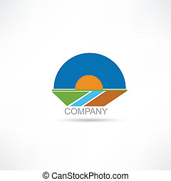 Company Agriculture vector icon
