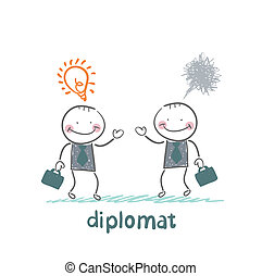 Diplomats are a good idea and bad thoughts