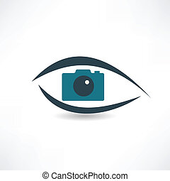Photographer abstraction operation icon