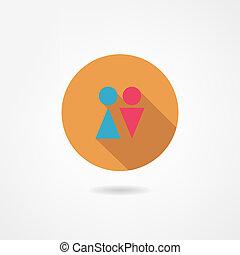 man&woman icon