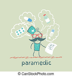 paramedic speaks about medicines