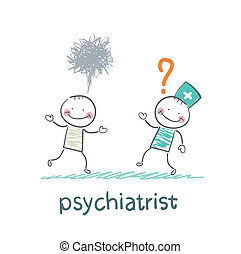 psychiatrist afraid of crazy patient