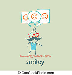 one thinks about smileys
