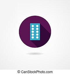 tabletas, icono