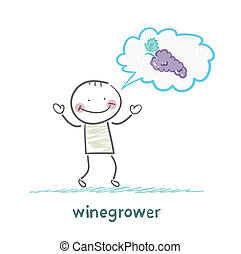 winegrower thinks of grapes