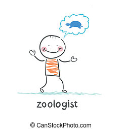 zoologist thinks the tortoise