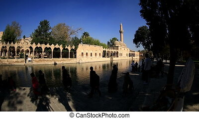 Halil-ur Rahman Mosque - holy travel destination fish lake...
