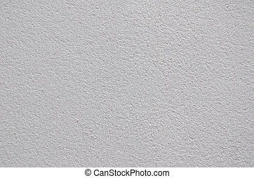 White Cement Plaster Wall