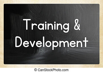training and development concept