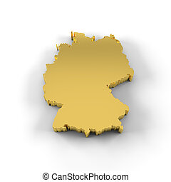 Drawing Of Africa Map D Gold High Resolution Map Of Africa In - Germany map high resolution