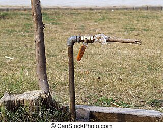 Save water - save nature save water stop with any way