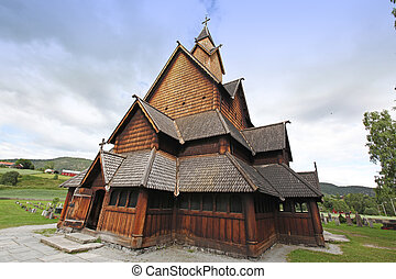 Heddal stavkirke in Norway