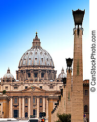 Vatican. The area before St. Peter's Cathedral