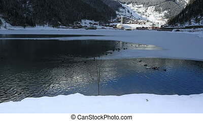 Long Lake - very famous place Long Lake at Trabzon Turkey,...