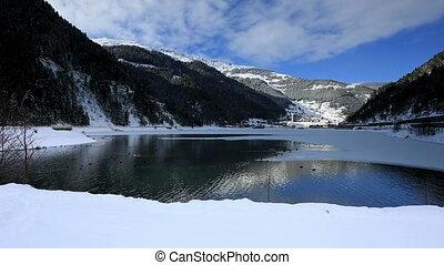 Long Lake - very famous place Long Lake at Trabzon Turkey,...