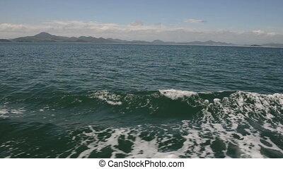 Korea coast line - The coast line of South Korea as seen...