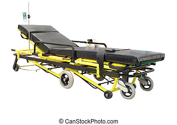 stretcher under the white background