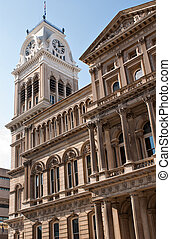 Old City Hall, Clock Tower, Louisville, KY - The Clock Tower...