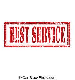 Best Service-stamp