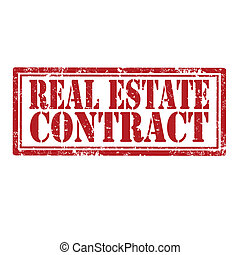 Real Estate Contract-stamp