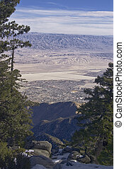 Palm Springs from Mount San Jacinto State Park