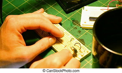 Making Electronics - Making a circuit board