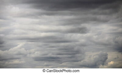 Overcast turbulence - Dark grey colour overcast turbulence